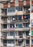 Edificio de apartamentos en Bulgaria Fotos de archivo