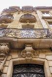 Edificio de Art Nouveau imagenes de archivo