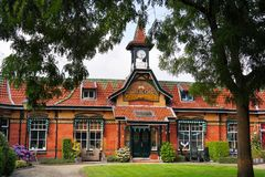 Edificio de Art Nouveau en Leeuwarden Imagen de archivo