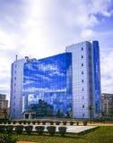 Edificio de ayuntamiento en Ploiesti, Rumania foto de archivo