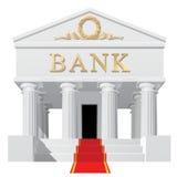 Edificio de banco Fotos de archivo