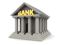 Edificio de banco 3d Foto de archivo