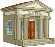 Edificio de banco Fotografía de archivo