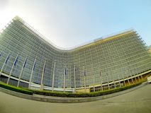 Edificio de Berlaymont Fotografía de archivo libre de regalías