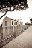 Edificio de biblioteca Fotografía de archivo libre de regalías