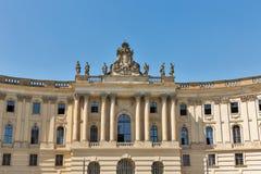 Edificio de biblioteca de universidad de Humboldt en Berlín, Alemania, fotos de archivo libres de regalías
