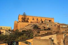 Edificio de Branciforti, Leonforte - Sicilia Fotos de archivo