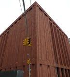 Edificio de Brown Fotos de archivo
