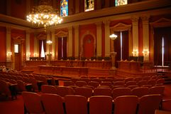 Edificio de capital 4 Fotografía de archivo libre de regalías