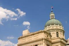 Edificio de capital de Indiana Imagen de archivo libre de regalías