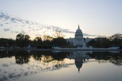 Edificio de capital de los E.E.U.U. Imagenes de archivo