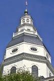 Edificio de capital de Maryland Imagen de archivo libre de regalías