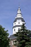 Edificio de capital de Maryland Fotos de archivo libres de regalías