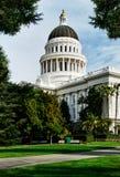 Edificio de capital en Sacramento California Imágenes de archivo libres de regalías