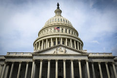 Edificio de Capitol Hill Foto de archivo libre de regalías