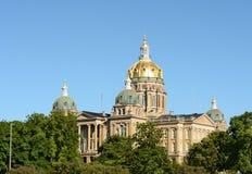 Edificio de Capiutol del estado de Iowa Fotografía de archivo
