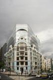 Edificio de Castilho de la garza de EdifÃcio en Lisboa Imagenes de archivo