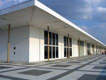 Edificio de centro de John F. Kennedy Imágenes de archivo libres de regalías