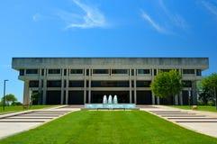 Edificio de centro judicial del Tribunal Supremo de Kansas en Sunny Day Foto de archivo libre de regalías