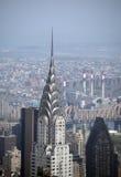 Edificio de Chrysler en Manhattan Fotos de archivo