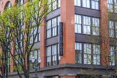 Edificio de Cienciología en Portland - PORTLAND - OREGON - 16 de abril de 2017 Fotos de archivo