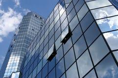 Edificio de cristal fotos de archivo