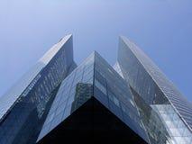 Edificio de cristal de la torre Fotografía de archivo