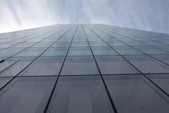 Edificio de cristal del fondo Imágenes de archivo libres de regalías