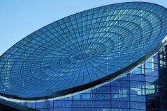 Edificio de cristal futurista Fotografía de archivo libre de regalías