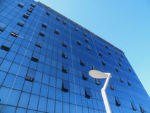 Edificio de cristal moderno Fotos de archivo libres de regalías