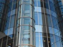 Edificio de cristal redondo Imagen de archivo