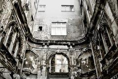Edificio de decaimiento Fotografía de archivo