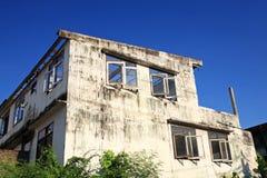 Edificio de decaimiento del abandono Fotos de archivo libres de regalías