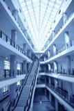 Edificio de enseñanza Imágenes de archivo libres de regalías
