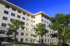 Edificio de enseñanza del instituto de la administración de Xiamen fotos de archivo libres de regalías