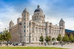 Edificio de envío de Cunard, Liverpool Foto de archivo libre de regalías