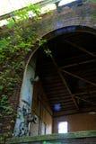 Edificio de fabricación abandonado Fotos de archivo