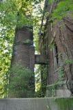 Edificio de fabricación abandonado Imagenes de archivo