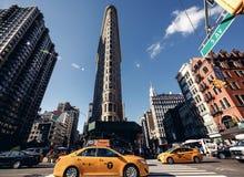 Edificio de Flatiron en Nueva York Imagen de archivo libre de regalías