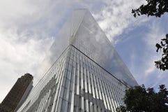 Edificio de Freedom Tower de Manhattan en New York City los E.E.U.U. Fotos de archivo libres de regalías