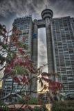 Edificio de Genex en nueva Belgrado Fotos de archivo libres de regalías