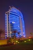 Edificio de Highrise de Dubai fotografía de archivo libre de regalías