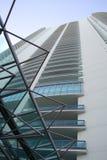 Edificio de Highrise moderno fotografía de archivo