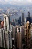 Edificio de Hong-Kong Foto de archivo libre de regalías