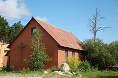 Edificio de iglesia Imágenes de archivo libres de regalías
