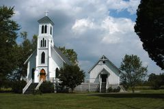 Edificio de iglesia II imagen de archivo libre de regalías