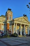 Edificio de Ivan Vazov National Theatre Imagen de archivo