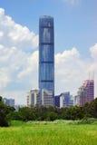 Edificio de Kingkey 100 en Shenzhen China Fotos de archivo libres de regalías