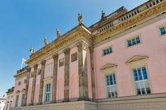 Edificio de la ópera del estado en Berlín, Alemania fotos de archivo