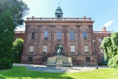 Edificio de la academia de Albany, Nueva York Imagen de archivo
